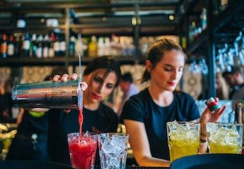 Cocktail Masterclass including Tapas in Brighton